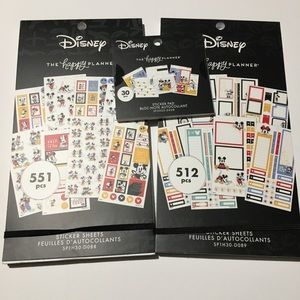THE HAPPY PLANNER MICKEY MOUSE COLLECTION OF 3